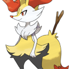 Braixen artwork