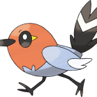 Fletchling artwork