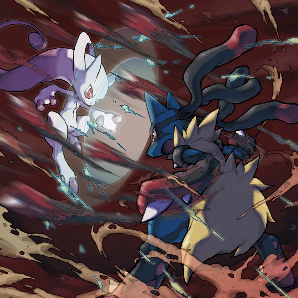 Mega Evolution gevecht promo artwork