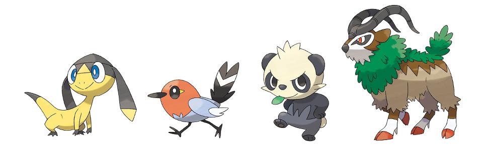 Nieuwe Pokémon X & Y