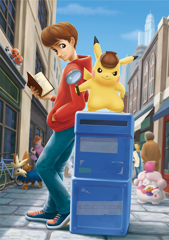 detective pikachu 3ds gameplay