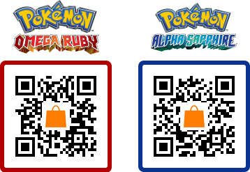 Omega Ruby & Alpha Sapphire Update QR codes