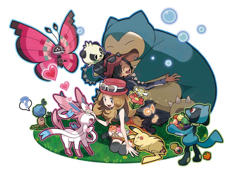 Pokémon-Amie Sugimori art