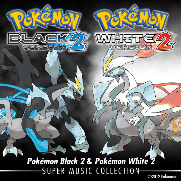 Pokémon Black 2 & Pokémon White 2: Super Music Collection albumcover