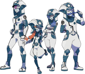 Ultra Recon Squad in Pokémon Ultra Sun & Moon