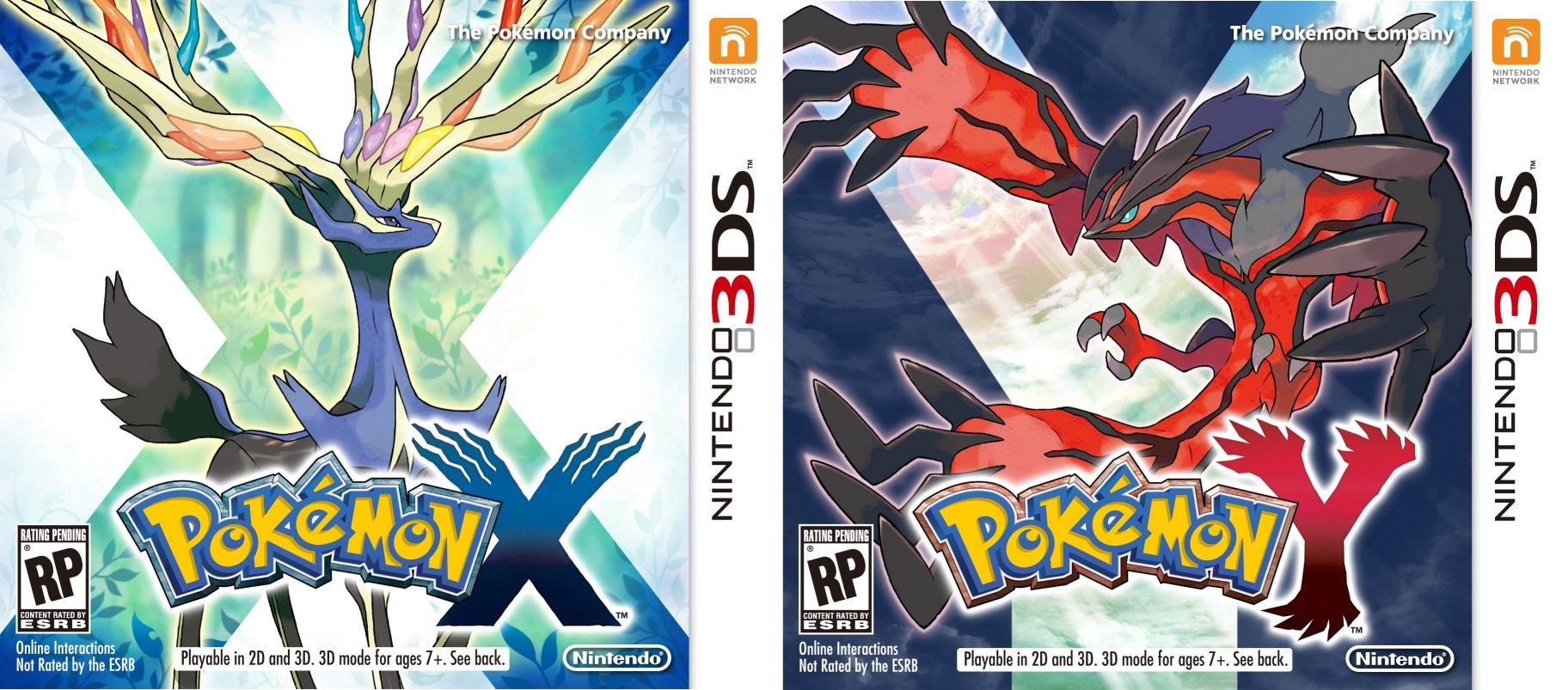 Boxart Pokémon X & Y